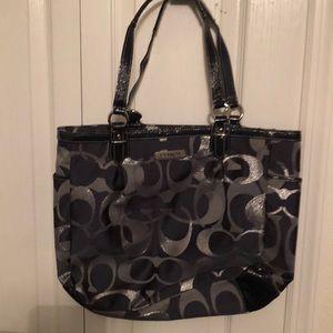 Fabric Coach bag